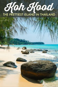 I've been to a dozen islands in Thailand, and Koh Kood is easily the prettiest Thailand Destinations, Thailand Travel Guide, Visit Thailand, Backpacking Thailand, Thailand Vacation, Travel Destinations, Visit Vietnam, Vietnam Travel, Asia Travel