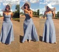 Amazing off shoulder dress designs for African women