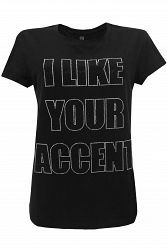 My Brand I LIKE YOUR ACCENT WMBTS019I001