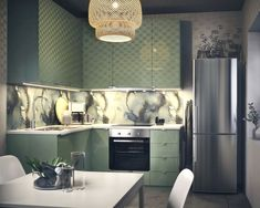 Either the price is one of the things you have to keep in mind, or not, there are enough IKEA kitchen design ideas here to inspire you into getting exactly what you want for your new or remodeled kitchen. We have found interesting takes on how you can redesign your kitchen with IKEA furniture and details, and how you can get them personalized for you to get a kitchen that feels more yours than something out of a catalog. Go ahead and take a look at the outstanding ideas we put together for you. Budget Kitchen Remodel, Kitchen On A Budget, Interior Fit Out, Kitchen Interior, Larder Unit, Ikea Kitchen Design, Old Kitchen, Shelf Design, Kitchen Cabinetry