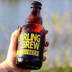 """Darling Brew on Instagram: """"Come over to the slow side! We have good beer 😎  Slow Beer now on special at our brewery and tasteroom. Just R60 a 330ml four pack. (Please…"""" Coffee Bottle, Beer Bottle, Whiskey Bottle, African Crafts, Best Beer, Cold Brew, Brewery, Packing, Drinks"""
