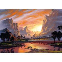 Puzzle Dolina zalana słońcem