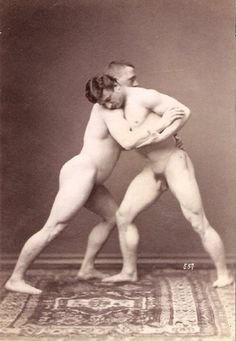 Incredible rub men german wrestling erotic