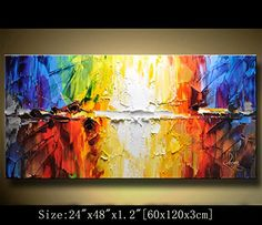 ... Oil Painting Contemporary Art Abstract Paintings Framed Canvas Wall Art  For Home Decor U0026 Wall Decorations For Living Room Bedroom Office Ready To  Hang