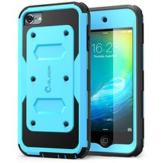 iPod Touch 5th 6th Gen Butterfly Hard Hybrid Dual LayerCover+Screen Protector
