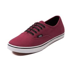 Shop for Vans Authentic Lo Pro Skate Shoe in Maroon at Journeys Shoes.