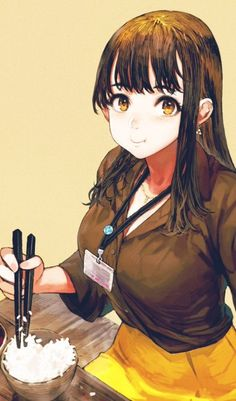 Safebooru is a anime and manga picture search engine, images are being updated hourly. Anime Girl Brown Hair, Anime Girl Hot, Anime Art Girl, Kawaii Anime, Thicc Anime, Illustration Girl, Character Illustration, Manga Girl, Mazes And Monsters