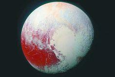 El misterioso océano subterráneo de Plutón