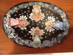 Handpainted folk art by cyndi.   Kokopelliplace@gmail.com Available on Esty  Cyndisfolkart.com