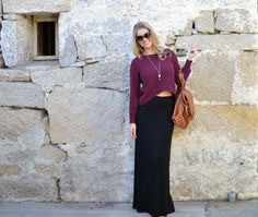 Clothes that don't wrinkle + handy bag that can also be a backpack = travel #fashion win