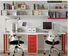 двойной компьютерный стол - Google Search