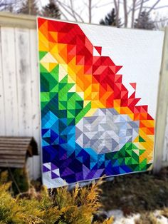 Be the Rainbow in Someone's Cloud: What Shade are You with Nikki Clark Murray - Quilt with love