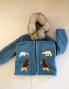 Image result for inuit wool applique