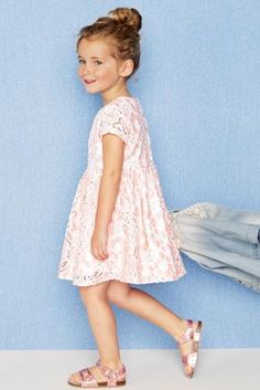 Buy Pink Lace Dress (3mths-6yrs) online today at Next: Australia