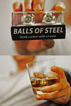 Balls of Steel Whiskey Chillers make the perfect gift for any occasion! The only thing more powerful than our cooling technology is the dedication to our cause. 15% of all proceeds go towards Testicular Cancer Cure Research. Help us get the ball rolling so we can kick cancers butt!