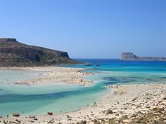 Balos Lagoon in Chania, Crete