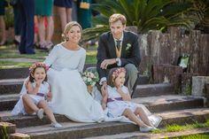 La boda de Andrea y David en Madrid
