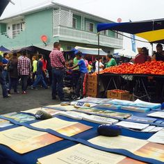 Public witnessing at a market in Tijuana, Mexico