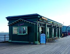 A CAFE on Southend Pier, which was refurbished by celebrity chef Jamie Oliver, has reopened as an ice cream parlour.