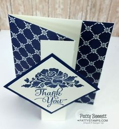 Z Fold Card Video Tutorial  - Patty's Stamping Spot