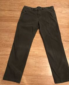 68b4c40970ca52 American Eagle Extreme Flex Army Green Pants Mens Size 36 X 32 Straight  Front