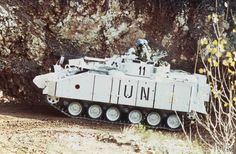 The arrival of British forces in Bosnia at the start of Operation GRAPPLE. A Warrior Armoured Fighting Vehicle of B Company, 1 Cheshire Regiment moves from Split over difficult mountainous terrain to its operating base at Vitez. Military Intervention, Mountainous Terrain, Young Americans, Armored Fighting Vehicle, British Army, Royal Navy, United Nations, Bosnia, Call Of Duty