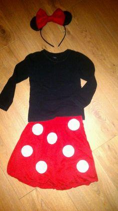 Minnie Mouse kostuum