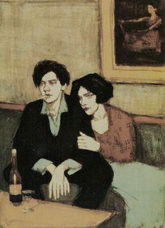 artist: Malcolm Liepke: Hand Pulled Lithograph - Alone Together Malcolm Liepke, Figure Painting, Painting & Drawing, Arte Van Gogh, Fine Art, Aesthetic Art, Figurative Art, Art For Sale, Art Inspo