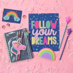 There's never a better moment to follow your dreams! #dreamsdocometrue #kiddreams Balcony Grill Design, Cute School Supplies, Office Supplies, Kids Stationery, Study Room Decor, Party Pops, Stylish Backpacks, Pony Party, Diy Crafts For Kids