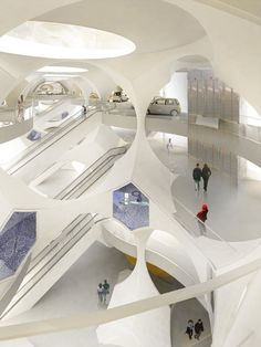 Architecture Car Center, Showroom and Leisure in Egypt by Manuelle Gautrand Architecture