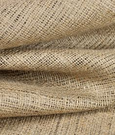 """AMAZING prices on burlap: $1.80/yd and up!  Tons of colors.  {shown: 60"""" wide natural burlap for $2.60/yd}"""