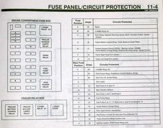 f350 diesel power stroke fuse box diagram projects to try rh pinterest com 1999 Ford Diesel 1998 Ford Diesel