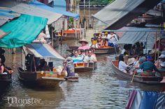 Venice Thailand | Damnoen Saduak Floating Market