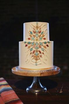 Bohemian wedding cake | Wedding & Party Ideas | 100 Layer Cake
