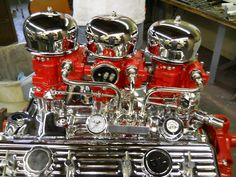 Chevy 3x2 Bolted up