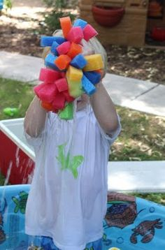 DIY Splash Balls - easy DIY summer craft for fun water play! Summer Fun For Kids, Summer Diy, Summer Crafts, Cool Kids, Fun Crafts, Crafts For Kids, Family Crafts, Summer Ideas, Kids Fun