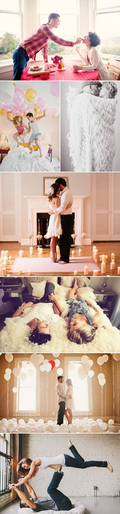 Show your love! 35 Sweet Valentine's Day Couple Photo Ideas! Quality Time at Home