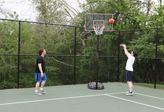 Onsite basketball courts at Clarity Way allow our patients to stay in shape & have some fun!
