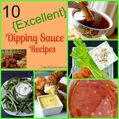 Classical Homemaking: 10 {Excellent} Dipping Sauce Recipes