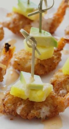 These Tropical Coconut Shrimp Bites are tasty and satisfying little nibbles that are the perfect appetizer for the holidays or even football season! Tropical Appetizers, Appetizers For Party, Appetizer Recipes, Snack Recipes, Cooking Recipes, Delicious Appetizers, Top Recipes, Asian Recipes, Recipies