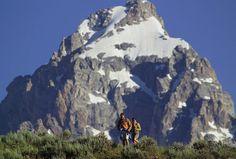 #4. Hike through the majestic Grand Teton National Park in Jackson Hole, Wyoming.