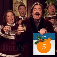 Alive's Advent Calendar // Day 5: Flash discount! Singers!  Get 10% off our celeb Singing Waiters. You have 48 hours!  Watch The Fabulous Singing Waiters star in this years Bells Whisky Christmas ad (with comedy legend Matt Berry) by clicking the link in our bio.  #AliveNetwork #Christmas #Xmas #AliveAtChristmas #Singers #Music #ChristmasSongs #XmasSongs #Discount