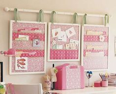 Kids Room Decor: Curtain Rods to Hang Frames