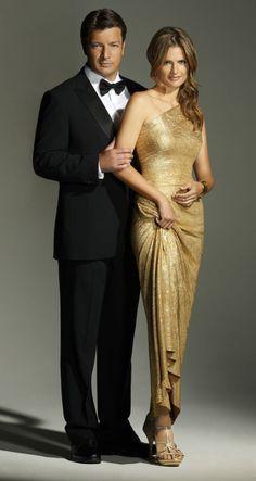 Stana Katic & Nathan Fillion