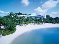 This five-star beachfront resort on Sentosa is within walking distance of key attractions on the island, such as the S.E.A. Aquarium, Siloso Beach and Universal Studios.