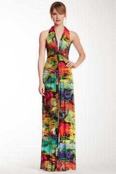 14d8fad2e91 Alberto Makali Printed Maxi Dress 4 Maxis