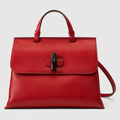Gucci Women - Bamboo Daily leather top handle bag - 392013A7M0N6523