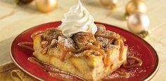 Caramel Apple Bread Pudding – Thanksgiving dessert recipe from ALDI.