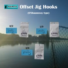 Offset Jig Hooks can be used 'as is' for soft plastics fishing or as the base hook if you like making your own lead head jigs for weighted fishing applications. Utilises the proven O'Shaunessy pattern for extra hooking capability.