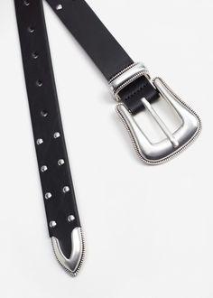 Studded belt -  Woman | MANGO United Kingdom